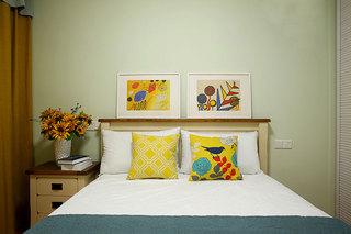 卧室背景墙装修图片