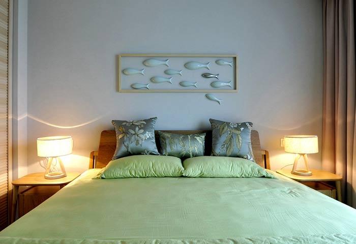 森系卧室装修效果图
