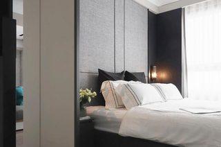都市现代简约风 卧室背景墙设计