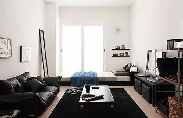 简约时尚单身公寓装修图