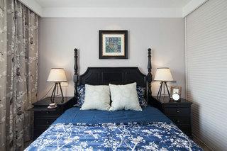 地中海风格主卧室效果图