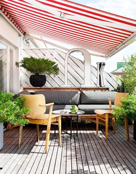 舒适庭院露台装修效果图