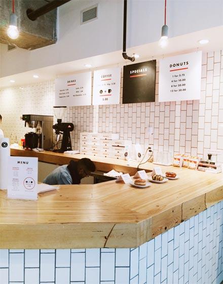 简约咖啡店吧台效果图图片