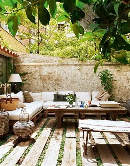 舒适惬意庭院装修效果图