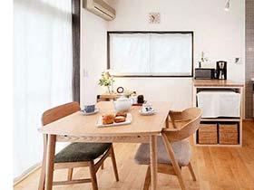 清新闲适 13个日式风格餐厅装修效果图