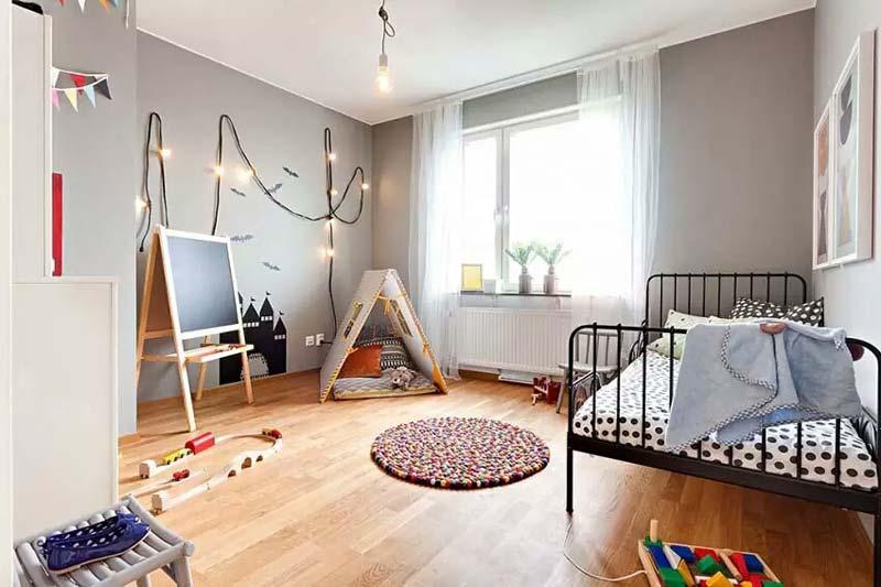 民族风两居室儿童房装修效果图
