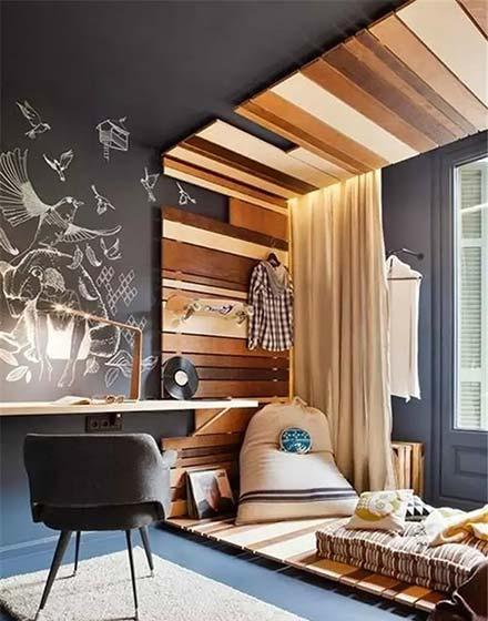 活力家庭木质吊顶设计图