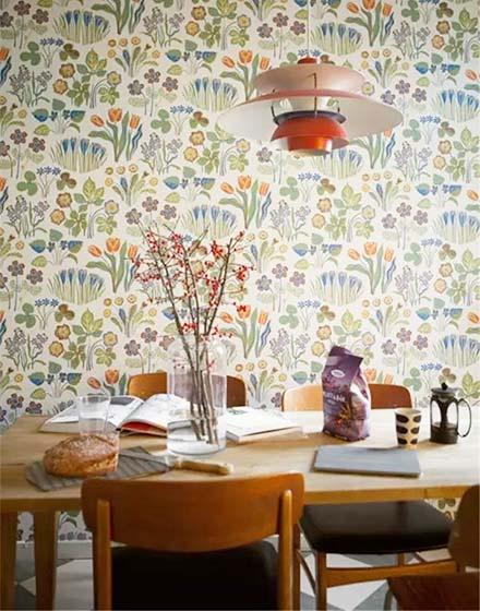 可爱餐厅壁纸装修效果图