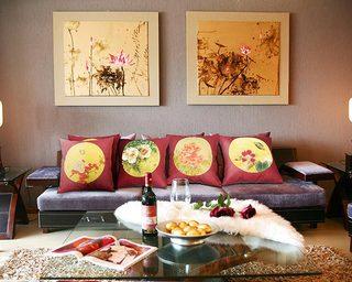 中式家居装修效果图