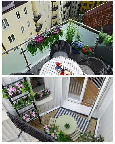 阳台装饰设计图
