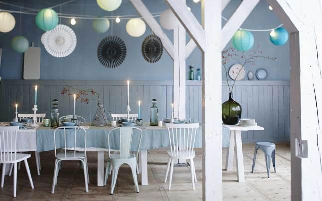 梦幻北欧风餐厅装饰效果图