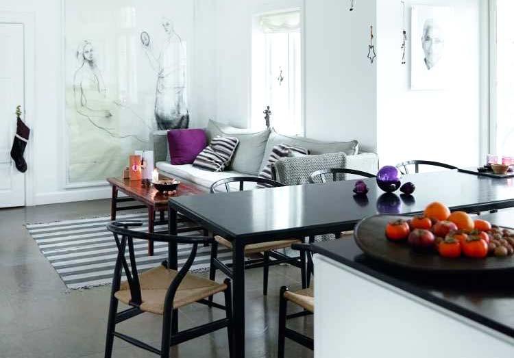 130平北欧风格三室两厅装修效果图