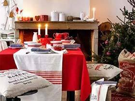 嗨翻圣诞 12个圣诞节餐厅装饰效果图