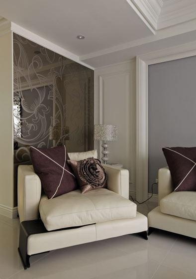 新古典沙发背景墙装修效果图