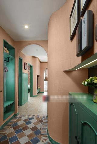 田园风格室内走廊装修设计