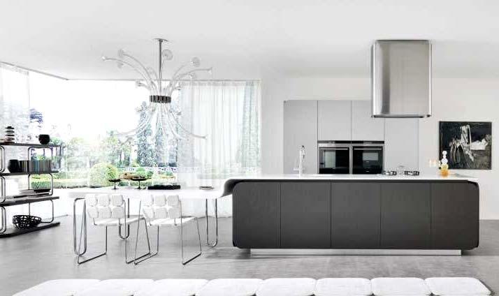 大气开放式智慧家居厨房图片