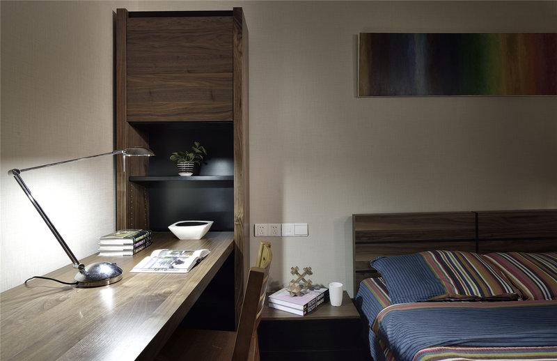 20万以上140平米以上中式四居室装修效果图,金沙湖高尔夫观邸装修高清图片
