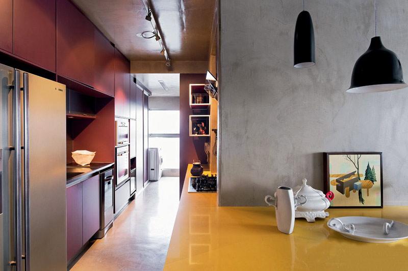厨房餐厅隔断设计效果图