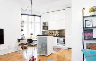 北欧小户型40平米客厅图片