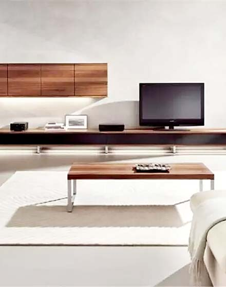 木质客厅电视柜装修效果图