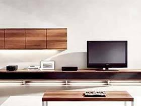 客厅也有收纳经 11个客厅电视柜效果图