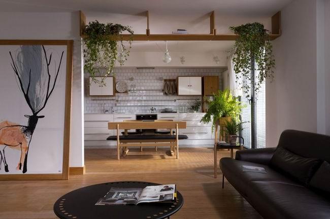 简洁清新客厅装修效果图