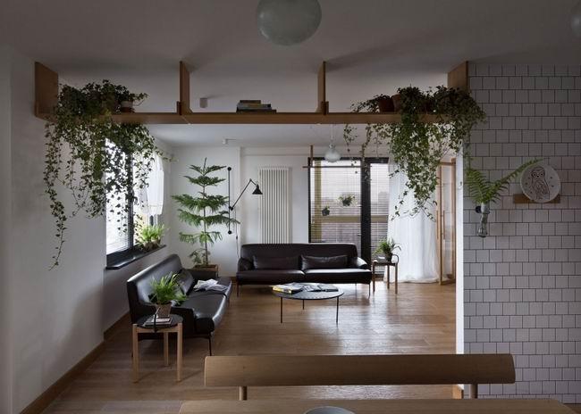 森系餐厅客厅吊顶装修效果图
