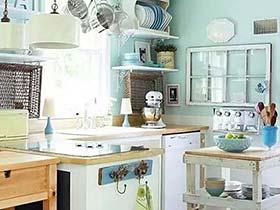 5个小厨房收纳图片 甜美实用俩不误