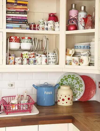 可爱小户型厨房装修图
