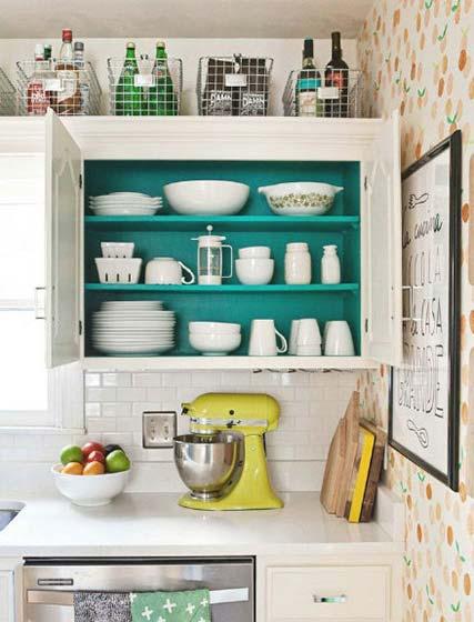 小清新厨房装修设计图
