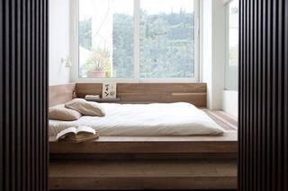 日式和风榻榻米卧室效果图