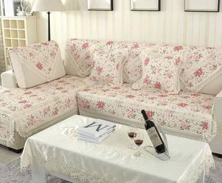小清新布艺沙发图片