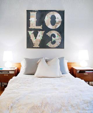北欧时尚卧室装修效果图