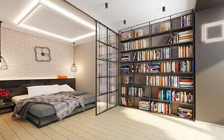 卧室书架图片