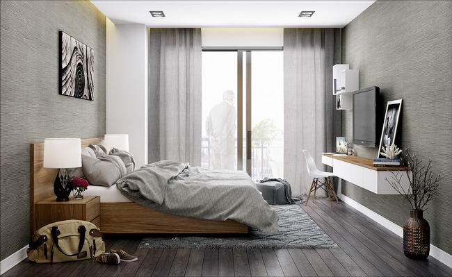 时尚灰宜家北欧风卧室装饰大全