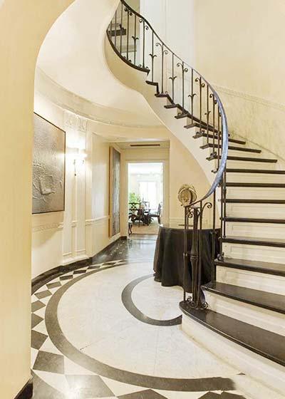 复式楼梯装修效果图图片