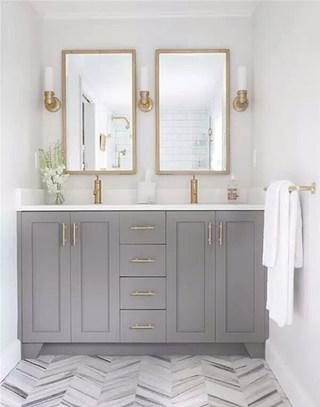 复古卫浴间橱柜装修大全