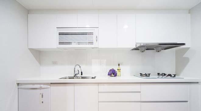 白色厨房装修效果图
