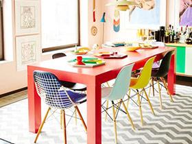 餐椅混搭新方案 13个混搭风格餐椅图片