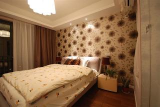 现代简约素雅卧室装修效果图