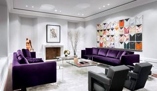 细腻时尚质感客厅装修效果图