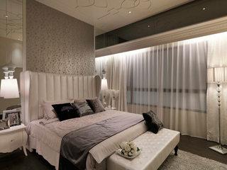 新古典舒适优雅卧室装修效果图