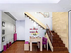 鸡肋空间巧利用  10个楼梯收纳装修图片