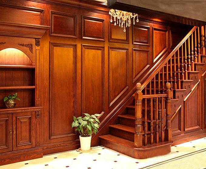 楼梯过道护墙板图