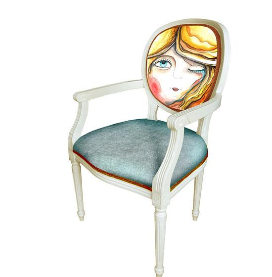 椅子实景图