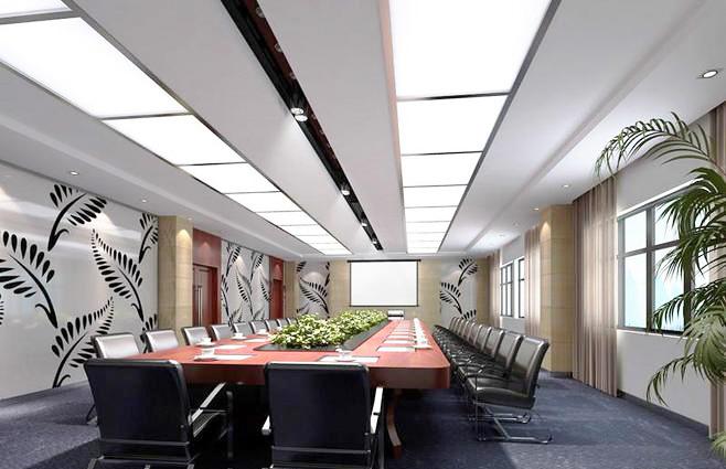 办公会议室装修效果图