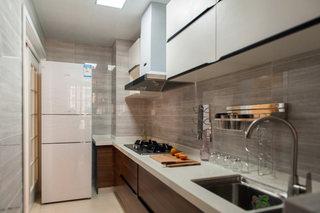 时尚简约质感厨房装修效果图
