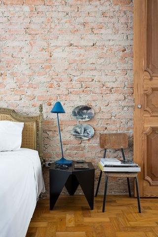 森系卧室背景墙装修效果图