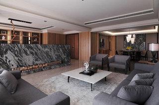 新中式风格时尚客厅装修效果图