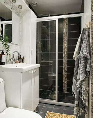 85平北欧一居室卫生间装修大全